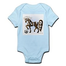 Mustangs (Brown) Infant Bodysuit