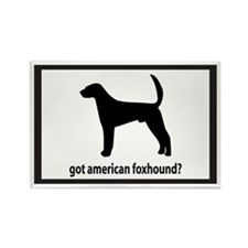 Got Am Foxhound? Rectangle Magnet