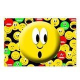 Surprise Mood Smiley Postcards (Package of 8)