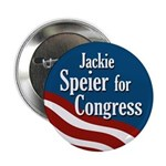 Jackie Speier for Congress campaign button