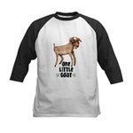 One Little Goat Kids Baseball Jersey