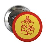 "Ganesh 2.25"" Button"