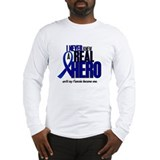 Never Knew A Hero 2 Blue (Fiancée) Long Sleeve T-S