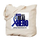 Never Knew A Hero 2 Blue (Fianc&#233;e) Tote Bag