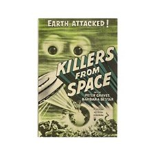 Killers From Space Rectangle Magnet