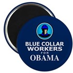 Blue Collar Workers for Obama Magnet