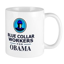 Blue Collar Workers for Obama Mug