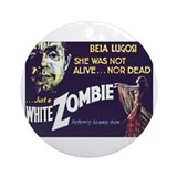 White Zombie Ornament (Round)