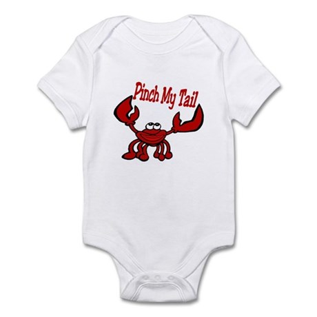 Pinch Me Smiling Crawfish Infant Bodysuit