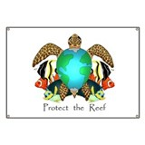 Save the Reef Banner
