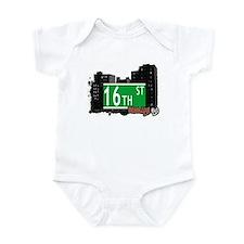 16th STREET, BROOKLYN, NYC Infant Bodysuit
