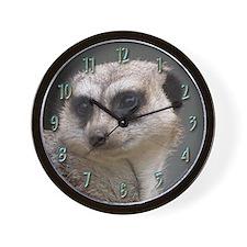 Meerkat 4 Wall Clock