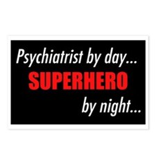 Superhero Psychiatrist Postcards (Package of 8)
