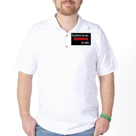 Superhero Psychiatrist Golf Shirt