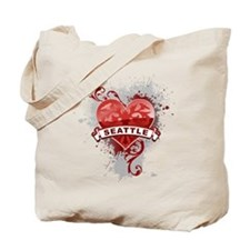 Heart Seattle Tote Bag