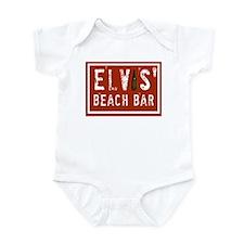 Elvis' Btl Logo Infant Bodysuit