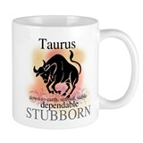 Taurus the Bull Small Mug