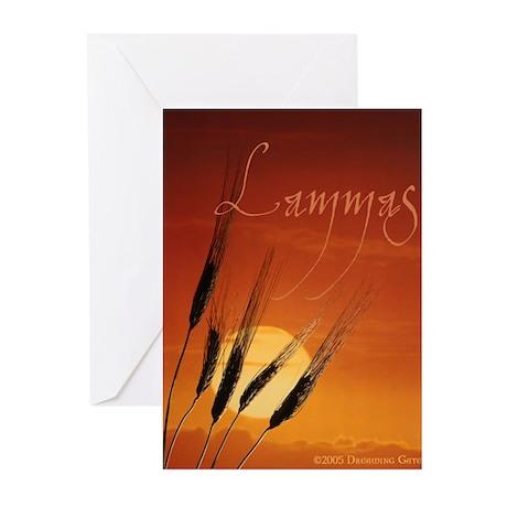 Magickal Life Lammas Greeting Cards (Pk of 10)