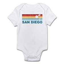 Palm Tree San Diego Infant Bodysuit