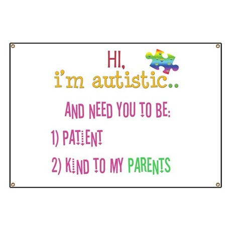 Autism Awareness Tee Banner