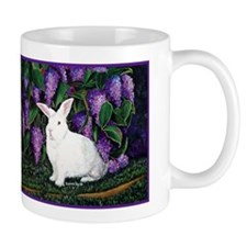 New Zealand White Bunnies Mug