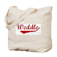 Weddle (red vintage) Tote Bag