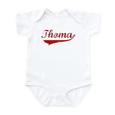 Thoma (red vintage) Infant Bodysuit