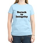 Barack to integrity Women's Light T-Shirt