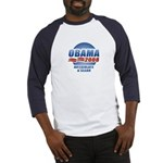 Obama 2008: Articulate & Clean Baseball Jersey