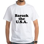 Barack the USA White T-Shirt