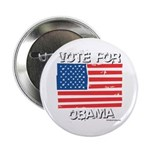 Vote for Obama Button