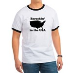 Barackin' in the USA Ringer T
