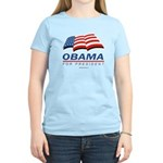 Obama for President Women's Light T-Shirt