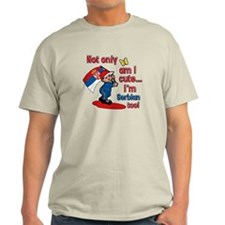Not only am I cute I'm Serbian too! T-Shirt