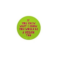 If you knew (pink) Mini Button (10 pack)