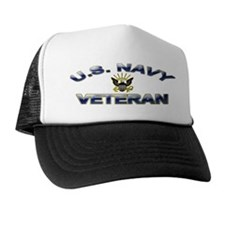 U. S. Navy Veteran Trucker Hat