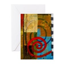 P.Daigrepont Abstract Greeting Cards (Pk of 10)
