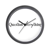 Question Everything - Westac Wall Clock