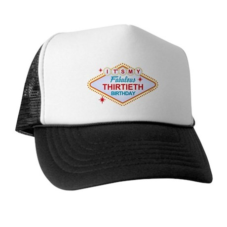 Las Vegas Birthday 30 Trucker Hat