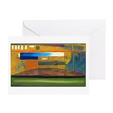 P.Daigrepont Abstract Greeting Card
