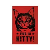 Viva la Kitty! Cat Revolution Magnet