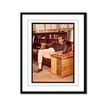 Paul C Yaeger Architect Framed Panel Print