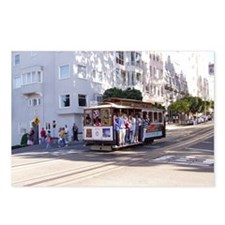 San Fran trolley car Postcards (Package of 8)