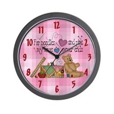 Sewing Wall Clock