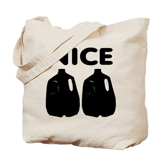 Nice Jugs Tote Bag
