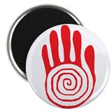 Sacred Hand in Red - Magnet