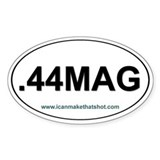 .44 MAG Oval Bumper Stickers