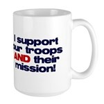 Troops & Mission Large Mug