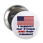 "Troops & Mission 2.25"" Button (100 pack)"