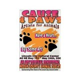 CAUSE 4 PAWS event Magnet